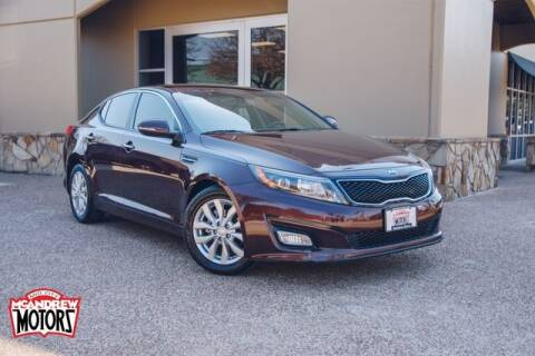 2015 Kia Optima for sale at Mcandrew Motors in Arlington TX
