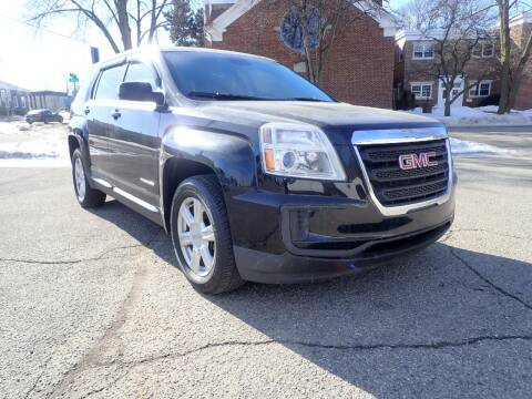 2016 GMC Terrain for sale at Marvel Automotive Inc. in Big Rapids MI