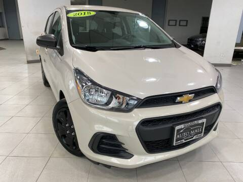 2018 Chevrolet Spark for sale at Auto Mall of Springfield in Springfield IL
