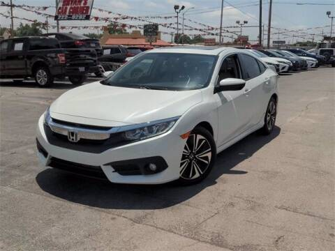 2018 Honda Civic for sale at Auto Bankruptcy Loans in Chickasha OK