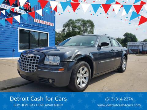 2007 Chrysler 300 for sale at Detroit Cash for Cars in Warren MI