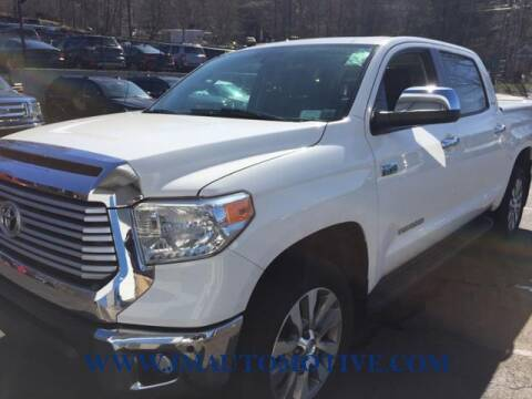 2017 Toyota Tundra for sale at J & M Automotive in Naugatuck CT