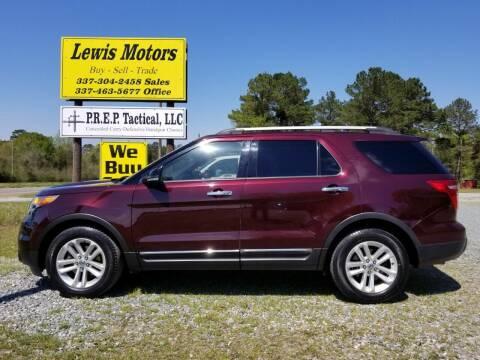 2011 Ford Explorer for sale at Lewis Motors LLC in Deridder LA