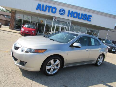 2010 Acura TSX for sale at Auto House Motors in Downers Grove IL