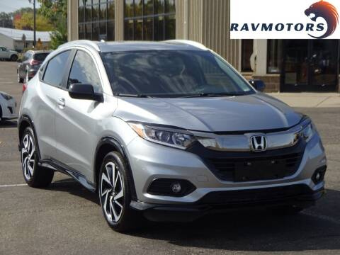 2019 Honda HR-V for sale at RAVMOTORS 2 in Crystal MN