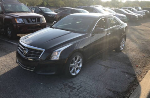 2014 Cadillac ATS for sale at COUNTRYSIDE AUTO SALES in Russellville KY