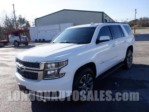 2018 Chevrolet Tahoe for sale at London Auto Sales LLC in London KY