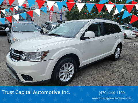 2013 Dodge Journey for sale at Trust Capital Automotive Inc. in Covington GA