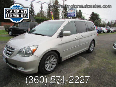 2007 Honda Odyssey for sale at Hall Motors LLC in Vancouver WA