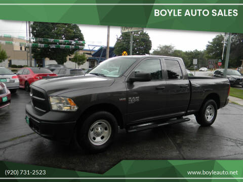 2019 RAM Ram Pickup 1500 Classic for sale at Boyle Auto Sales in Appleton WI
