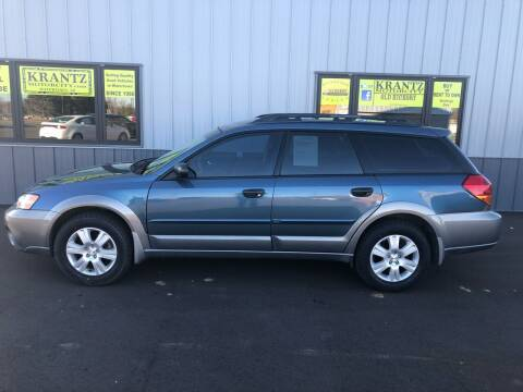 2005 Subaru Outback for sale at Krantz Motor City in Watertown SD