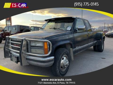 1993 GMC Sierra 3500 for sale at Escar Auto in El Paso TX