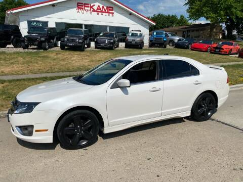 2012 Ford Fusion for sale at Efkamp Auto Sales LLC in Des Moines IA
