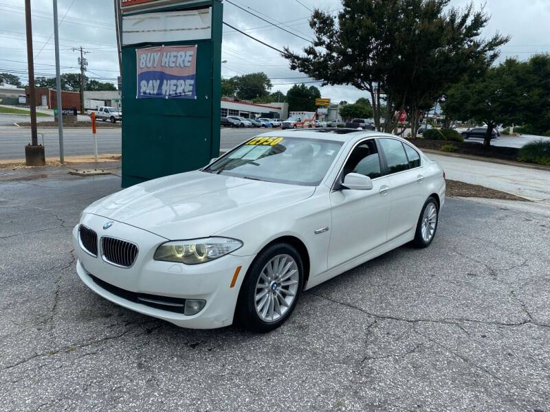 2011 BMW 5 Series for sale in Greenville, SC