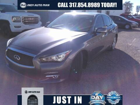 2017 Infiniti Q50 for sale at INDY AUTO MAN in Indianapolis IN