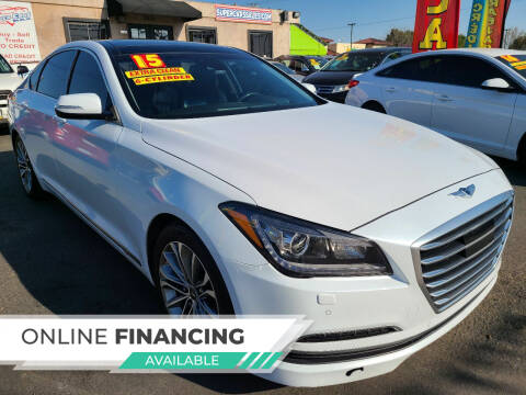 2015 Hyundai Genesis for sale at Super Cars Sales Inc #1 - Super Auto Sales Inc #2 in Modesto CA