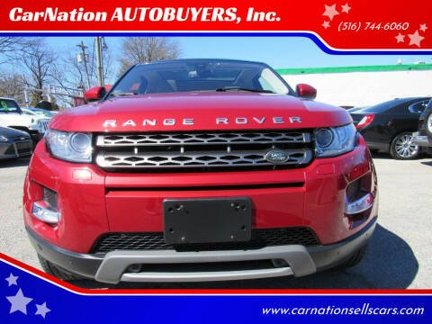 2015 Land Rover Range Rover Evoque Coupe for sale at CarNation AUTOBUYERS Inc. in Rockville Centre NY
