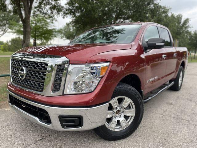 2018 Nissan Titan for sale at Prestige Motor Cars in Houston TX