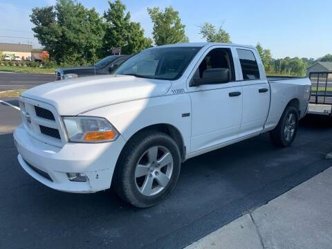 2012 RAM Ram Pickup 1500 for sale at HILLS AUTO LLC in Henryville IN