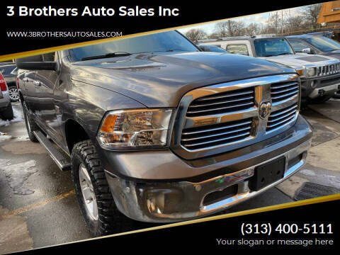 2015 RAM Ram Pickup 1500 for sale at 3 Brothers Auto Sales Inc in Detroit MI