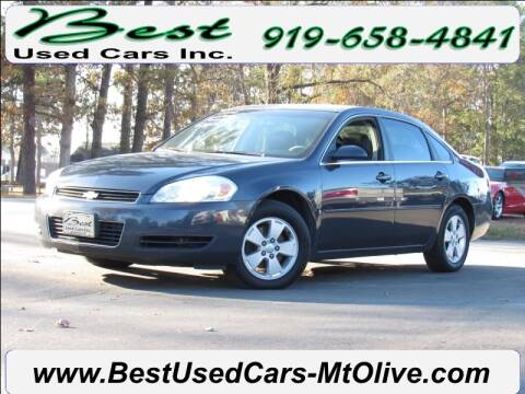 2008 Chevrolet Impala for sale at Best Used Cars Inc in Mount Olive NC