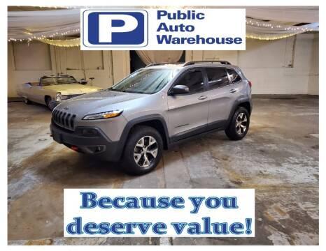 2015 Jeep Cherokee for sale at Public Auto Warehouse in Pekin IL