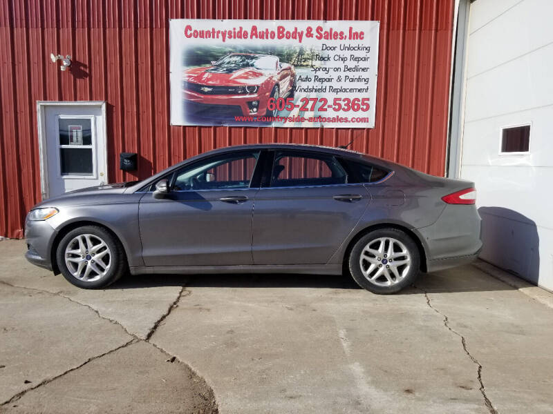 2013 Ford Fusion for sale at Countryside Auto Body & Sales, Inc in Gary SD