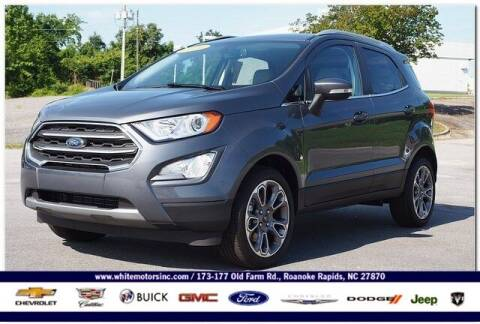 2021 Ford EcoSport for sale at WHITE MOTORS INC in Roanoke Rapids NC