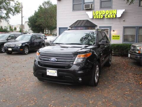 2011 Ford Explorer for sale at Loudoun Used Cars in Leesburg VA