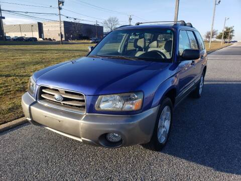 2004 Subaru Forester for sale at DISTINCT IMPORTS in Cinnaminson NJ