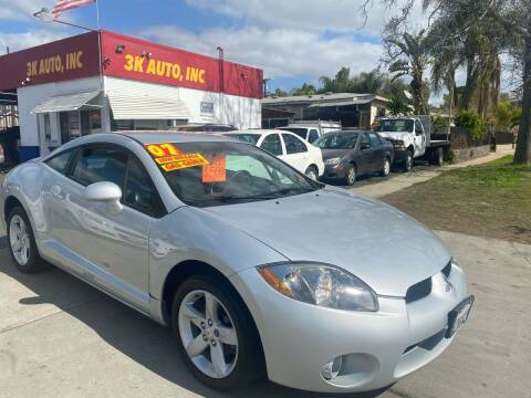 2007 Mitsubishi Eclipse for sale at 3K Auto in Escondido CA