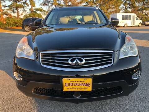 2010 Infiniti EX35 for sale at DRIVEhereNOW.com in Greenville NC