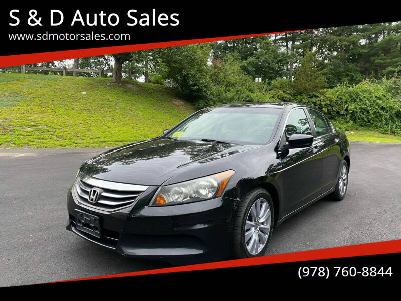 2011 Honda Accord for sale at S & D Auto Sales in Maynard MA