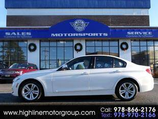 2016 BMW 3 Series for sale at Highline Group Motorsports in Lowell MA