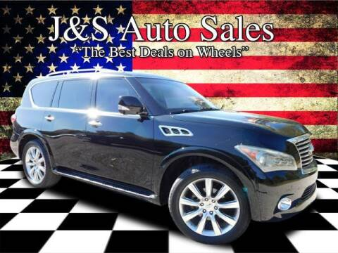 2012 Infiniti QX56 for sale at J & S Auto Sales in Clarksville TN
