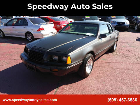 1984 Ford Thunderbird for sale at Speedway Auto Sales in Yakima WA