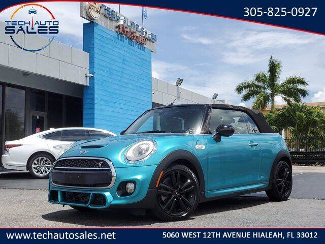2016 MINI Convertible for sale at Tech Auto Sales in Hialeah FL
