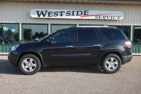 2011 GMC Acadia for sale at West Side Service in Auburndale WI