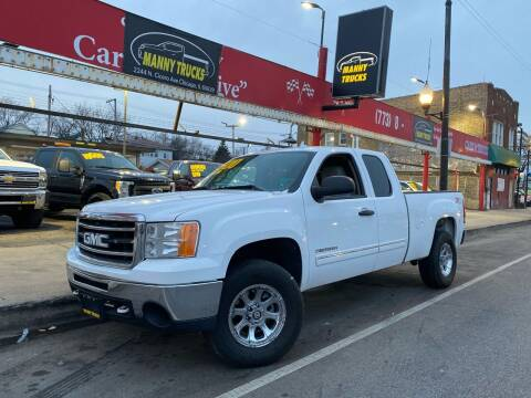 2012 GMC Sierra 1500 for sale at Manny Trucks in Chicago IL