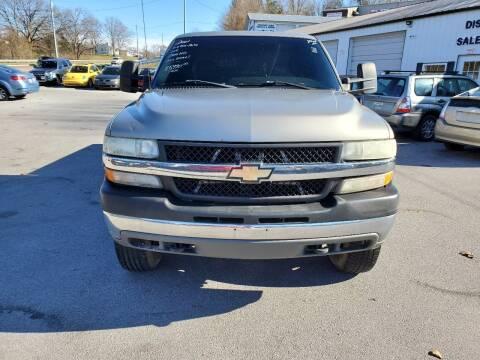 2001 Chevrolet Silverado 2500HD for sale at DISCOUNT AUTO SALES in Johnson City TN