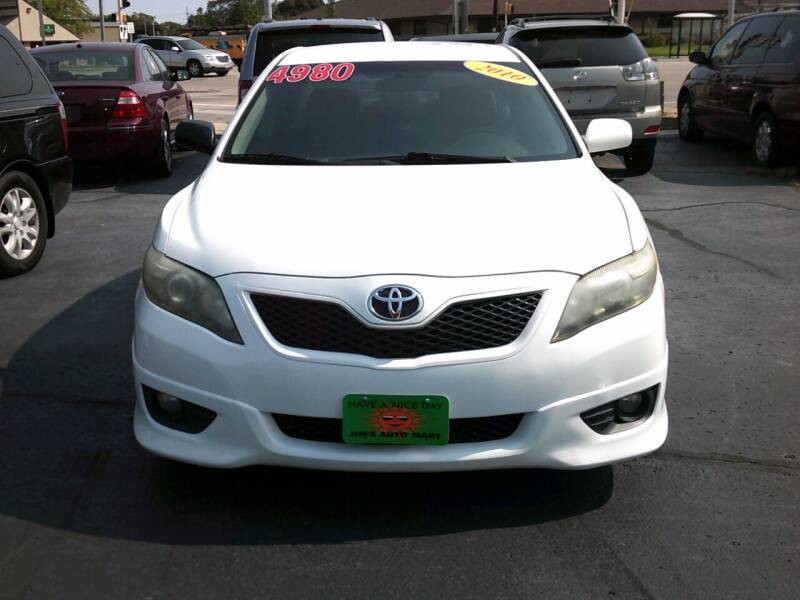 2010 Toyota Camry for sale at JIMS AUTO MART INC in Milwaukee WI