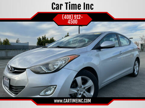 2013 Hyundai Elantra for sale at Car Time Inc in San Jose CA