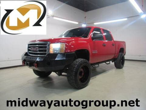 2012 GMC Sierra 1500 for sale at Midway Auto Group in Addison TX
