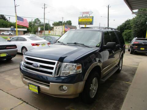 2013 Ford Expedition for sale at Metroplex Motors Inc. in Houston TX