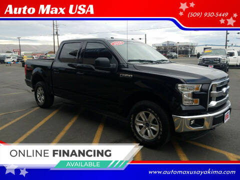 2016 Ford F-150 for sale at Auto Max USA in Yakima WA