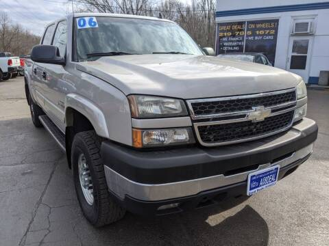 2006 Chevrolet Silverado 2500HD for sale at GREAT DEALS ON WHEELS in Michigan City IN