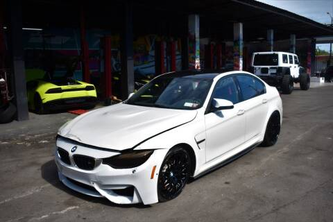 2018 BMW M3 for sale at STS Automotive - Miami, FL in Miami FL