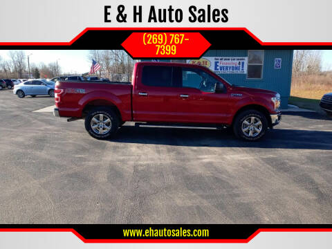 2018 Ford F-150 for sale at E & H Auto Sales in South Haven MI