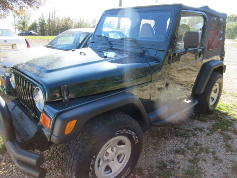 2000 Jeep Wrangler for sale at Dallas Auto Mart in Dallas GA