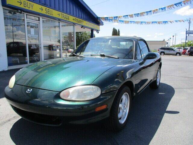 2000 Mazda MX-5 Miata for sale at Affordable Auto Rental & Sales in Spokane Valley WA